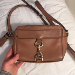 Rebecca Minkoff brown leather crossbody